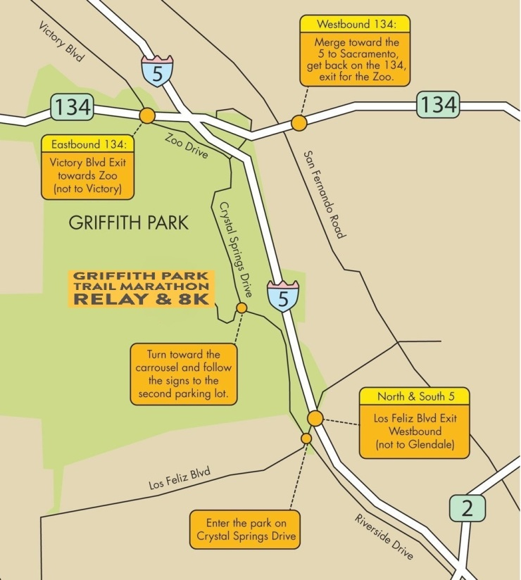 Griffith Park Old Zoo Directions_GPTMR